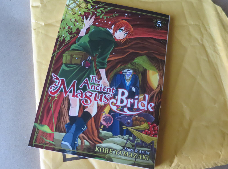 manga mail, The Ancient Magus' Bride 5