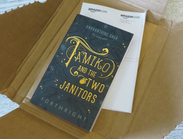 Tamiko, Amazon Delivery