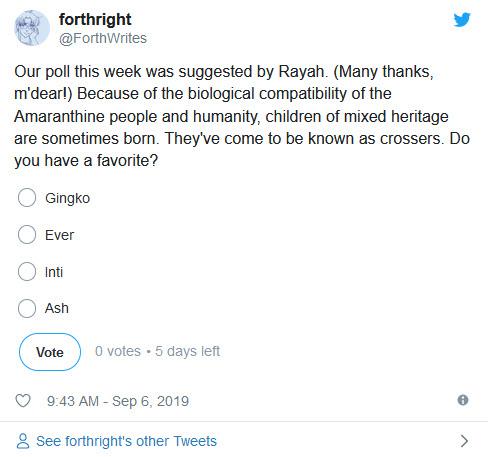 Twitter Poll, Crossers