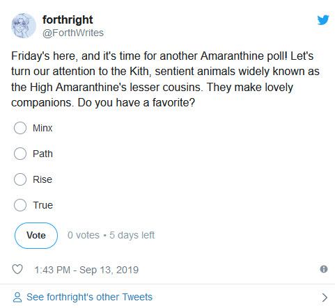 Twitter Poll, Kith