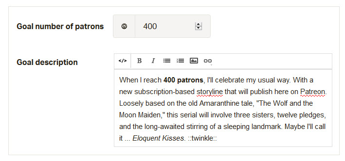 400 Patrons
