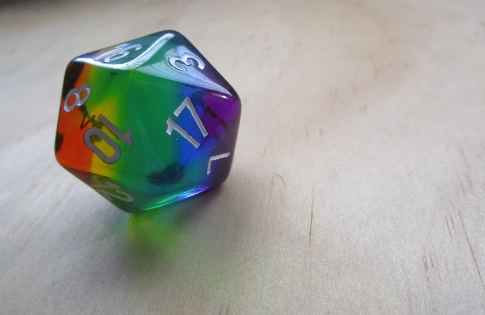 Dice Envy, Prismatic d20