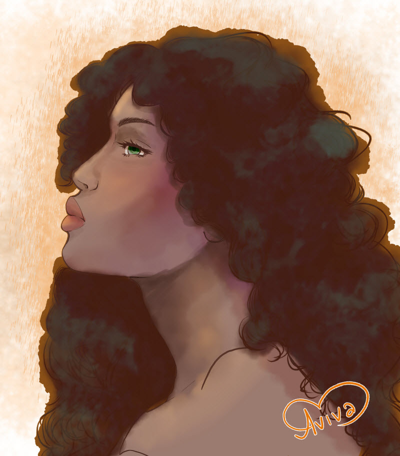 Fira Portrait by Aviva Godfrey