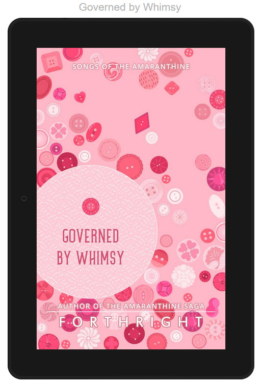 Governed by Whimsy_coming to kindle