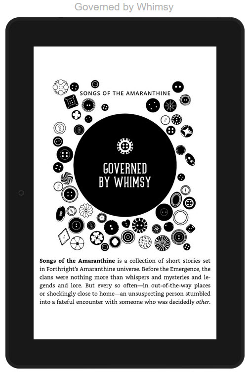 Governed by Whimsy_preorder now